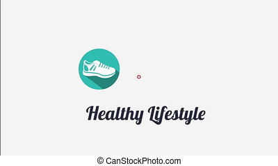 Healthy Lifestyle design, Video Animation HD1080