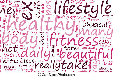 Healthy Lifestyle through Fitness as a Art