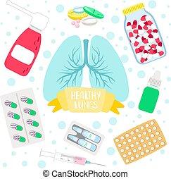 Healthy lungs medicine