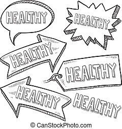 Healthy message tags