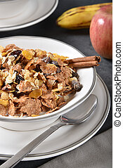 Healthy natural breakfast cereal