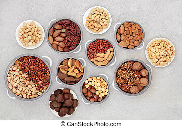 Healthy Nut Collection for Vegans and Vegetarians