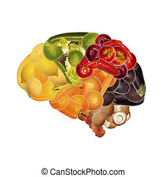 healthy nutrition is important for brain
