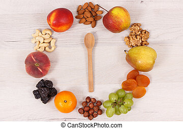 Healthy nutritious food as source minerals, vitamins and...