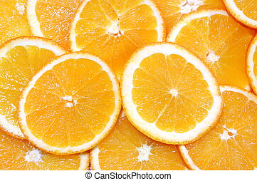 orange fruit background