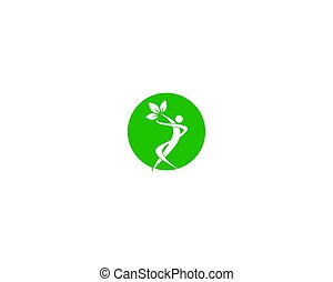healthy people logo - is a symbol related to health, care,...
