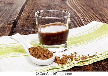 Healthy reishi supplement.