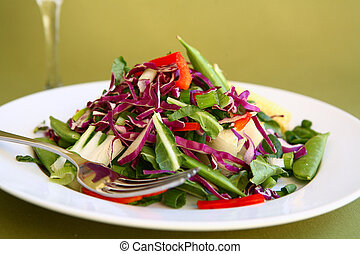 Healthy Salad Close Up