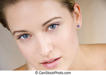 healthy skin woman