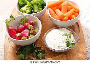 healthy snack buffet