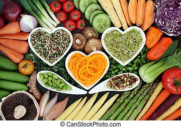Healthy Super Food Selection - Healthy super food concept...