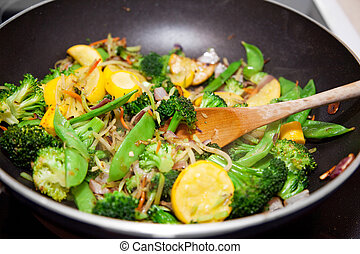 Healthy Vegetable Stir Fry - Healthy vegetable stir fry...