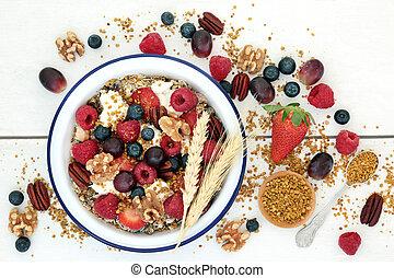 Healthy Vegetarian Breakfast Superfood - Healthy vegetarian...