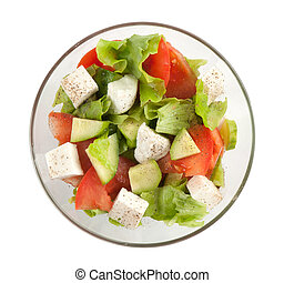 Healthy vegetarian Salad