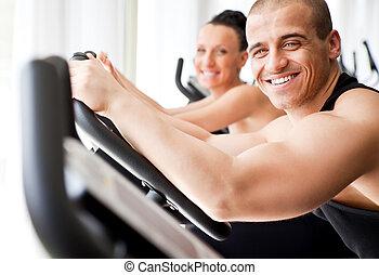 healthy veloargometer  gym