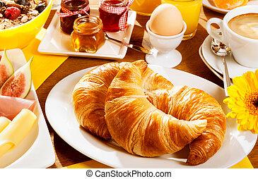 Healthy wholesome breakfast