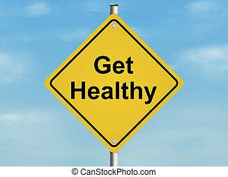 healthy., zdobywać