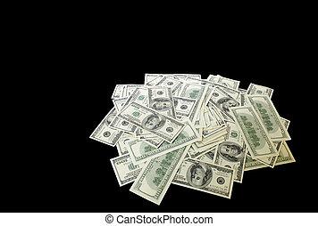 heap of banknotes