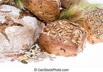 Heap of bread - Macro view
