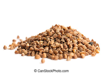 Heap of buckwheat