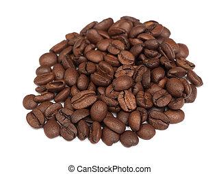 Heap of coffee beans