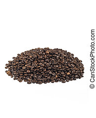 heap of coffee beans