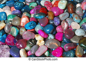 gems - heap of colored gems