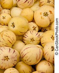 Fresh Organic Pepino Melon - Heap Of Fresh Organic Pepino...