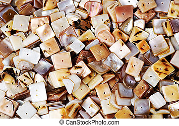nacre beads - Heap of nacre beads ,suitable for backgrounds.