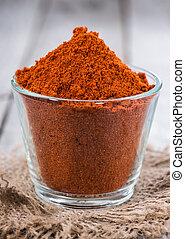 Heap of Paprika Powder