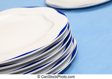 heap of plates