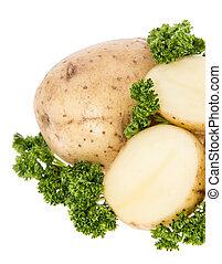 Heap of Potatoes with Parsley