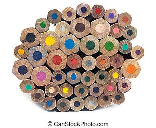 heap pencils