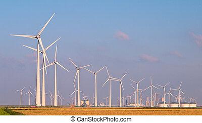 Heaps of Wind Turbines