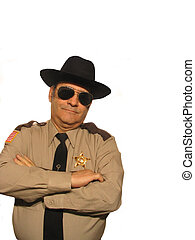 Heard it before - ,Part of the sheriff series,over white