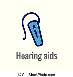 Hearing Aid or loss - Sound Wave Image - Hearing Aid or loss...