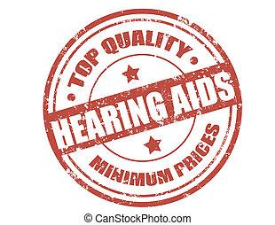 Hearing aids-stamp
