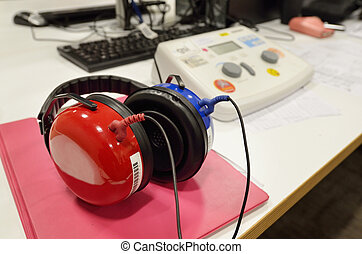Hearing screening and check equipment - Hearing screening...