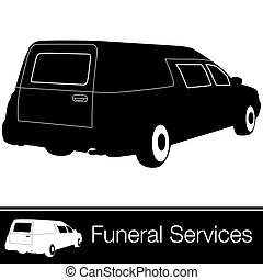 Hearse - An image of a hearse.