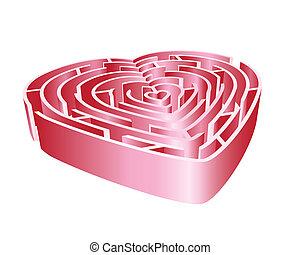 Heart 3d Maze