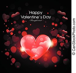 heart abstract background February 14 Valentine's Day. greeting cards with Valentine's Day, Mother's Day, International Women's