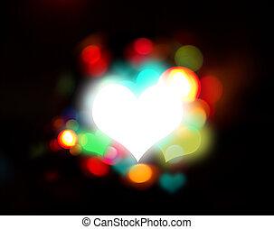 heart and fantasy light
