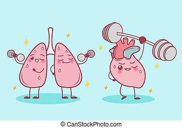 heart and lung do sport