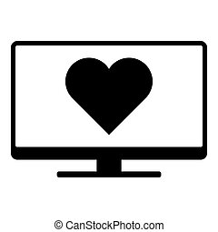 Heart and screen