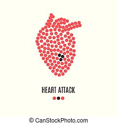 Heart attack awareness poster