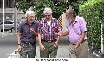 Heart Attack Elderly Men Health Emergency