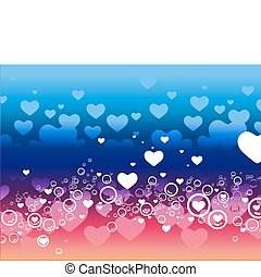 heart background - abstract spring romantic heart...