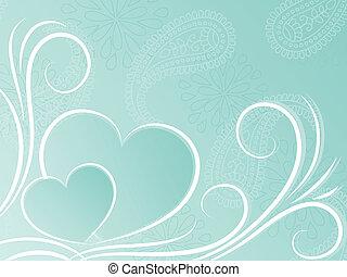 Heart background.