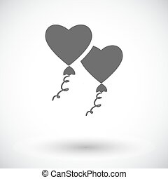 Heart balloon.