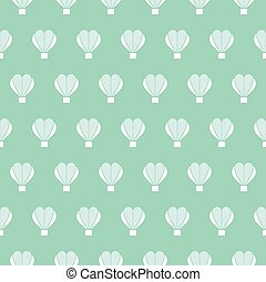 heart balloon vector pattern, pattern fills, web page background, surface textures